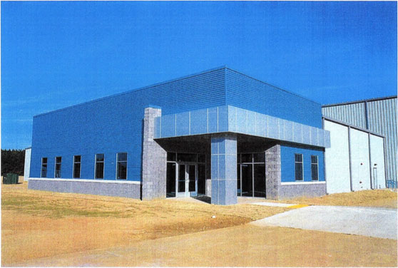 North Webster Parish Industrial District Announces Completion of New Building